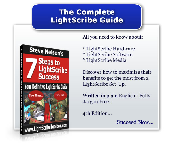 Free LightScribe Success Guide